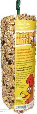 Nutri-Peck Pecking Block 250g