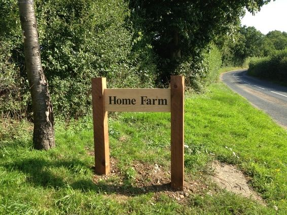 Home Farm Sign