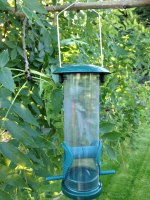 Plastic Seed Feeder - Small