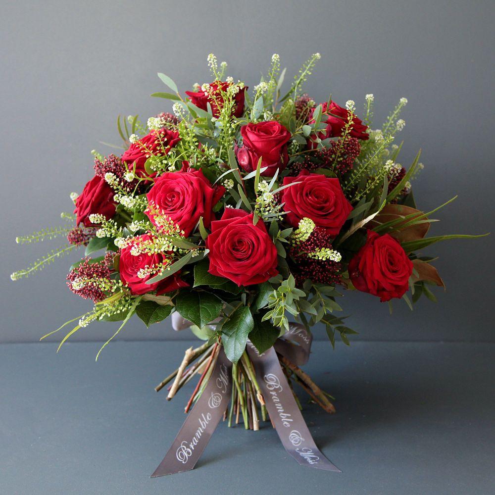 3. A Dozen Red Roses
