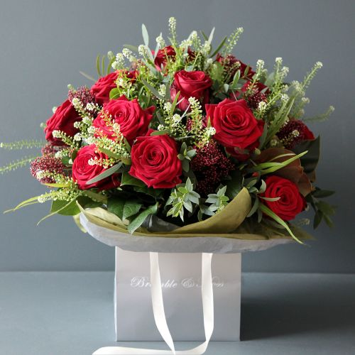3. Two Dozen Red Roses