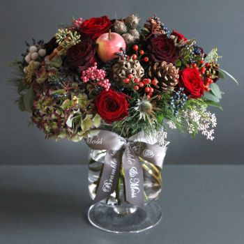Seasons Greetings (vase)
