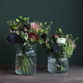 2. Vintage Flower Jars