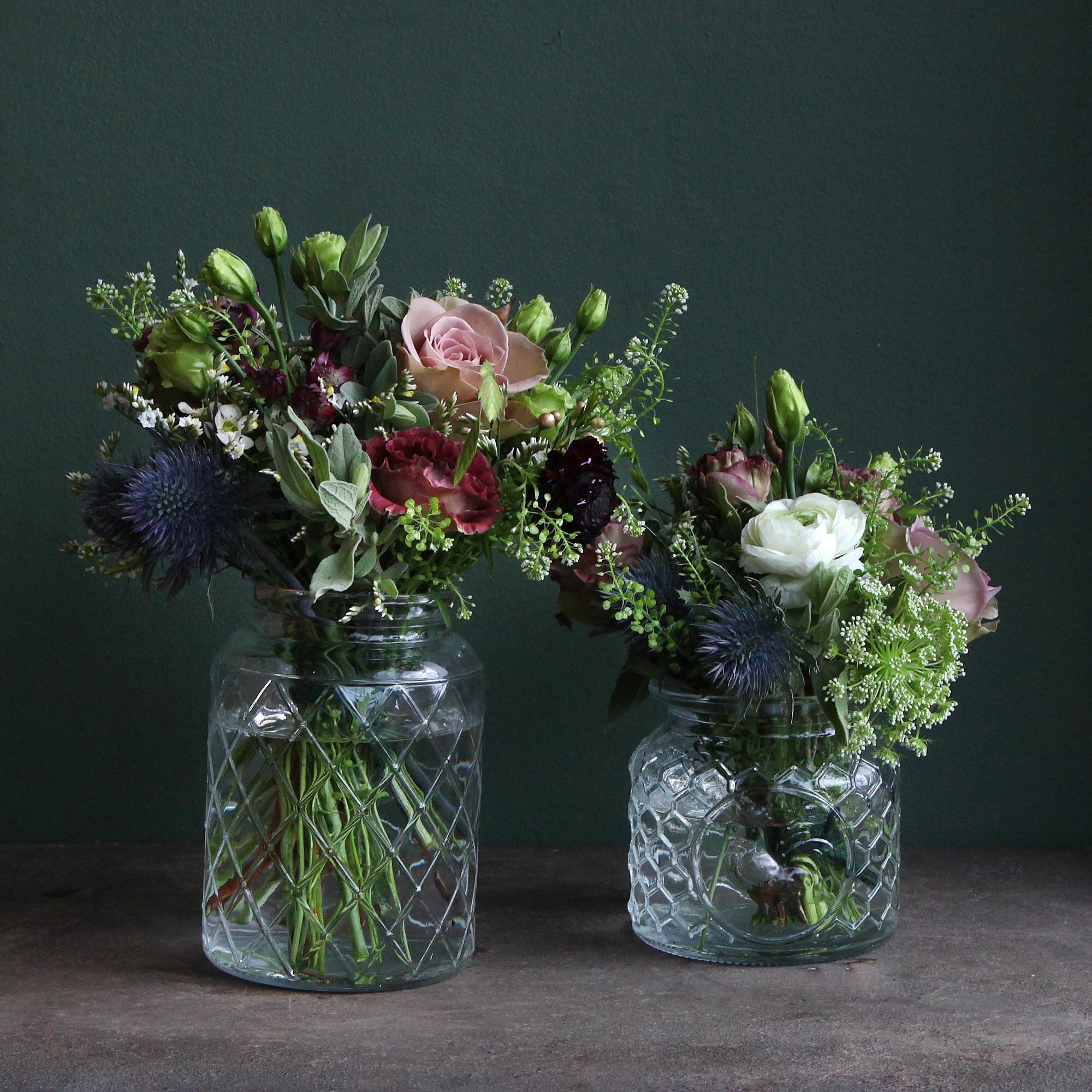 Vintage Flower Jars