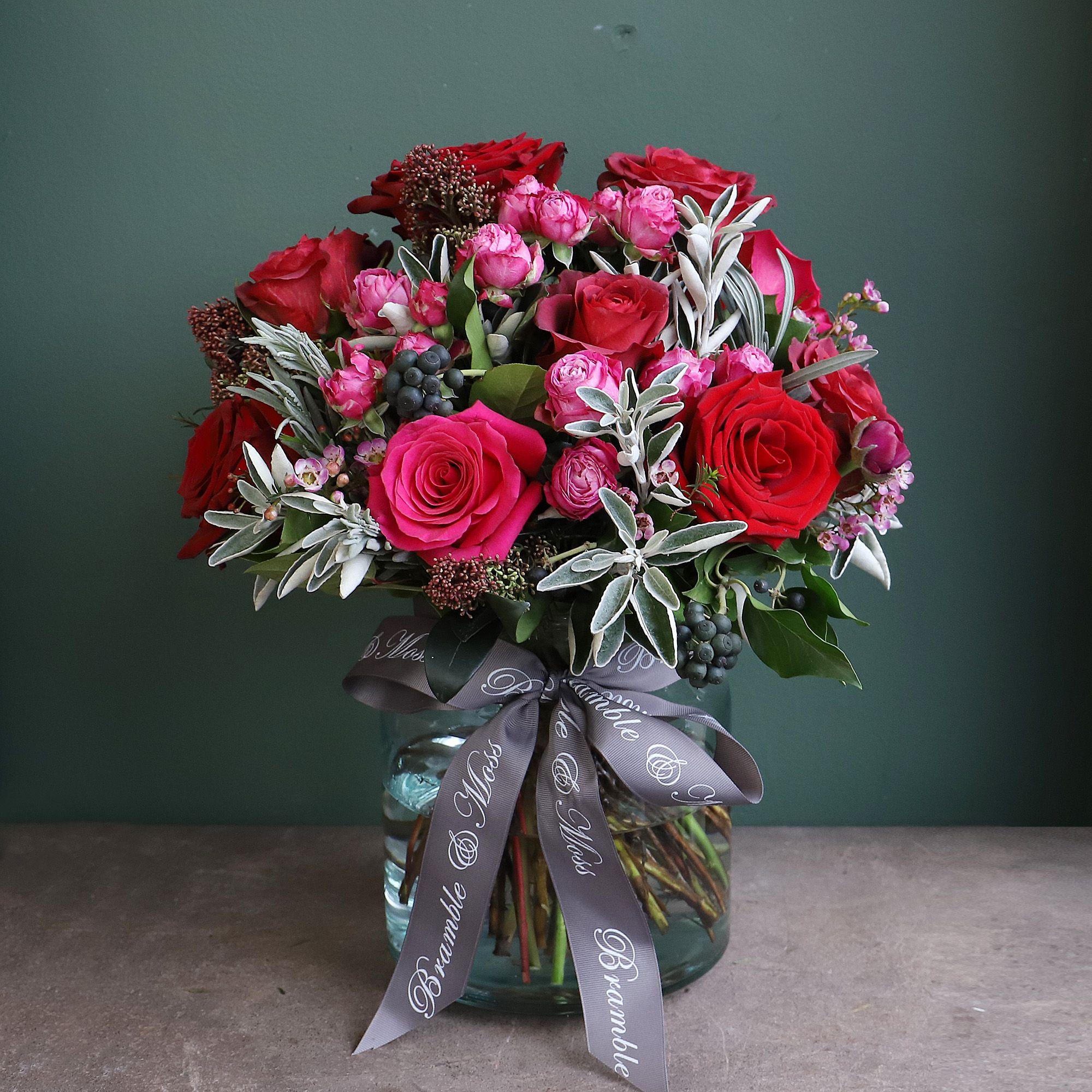 Pink & Red (vase)