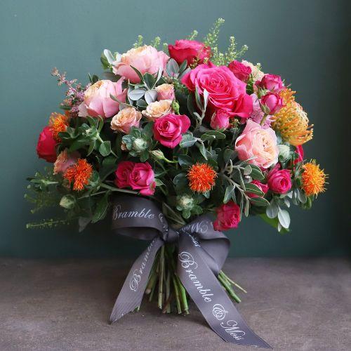 o. Vibrant Pink & Orange