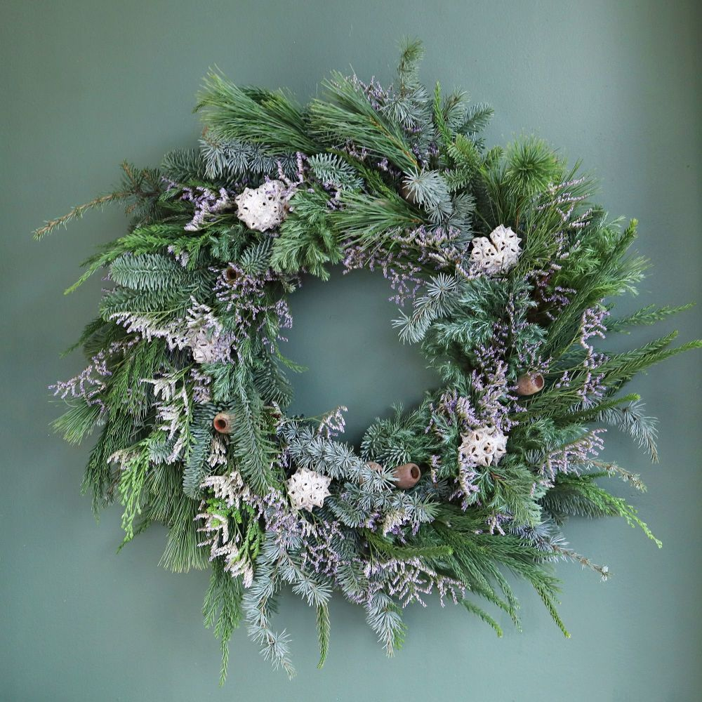 First Frost Door Wreath