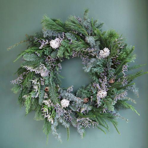 First Frost Door Wreath