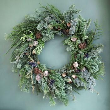 Woodland Door Wreath