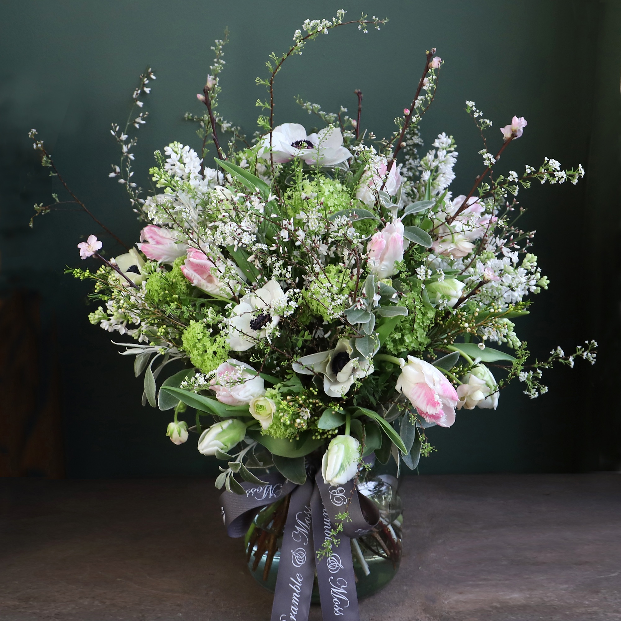 Spring Bunch with  Vase