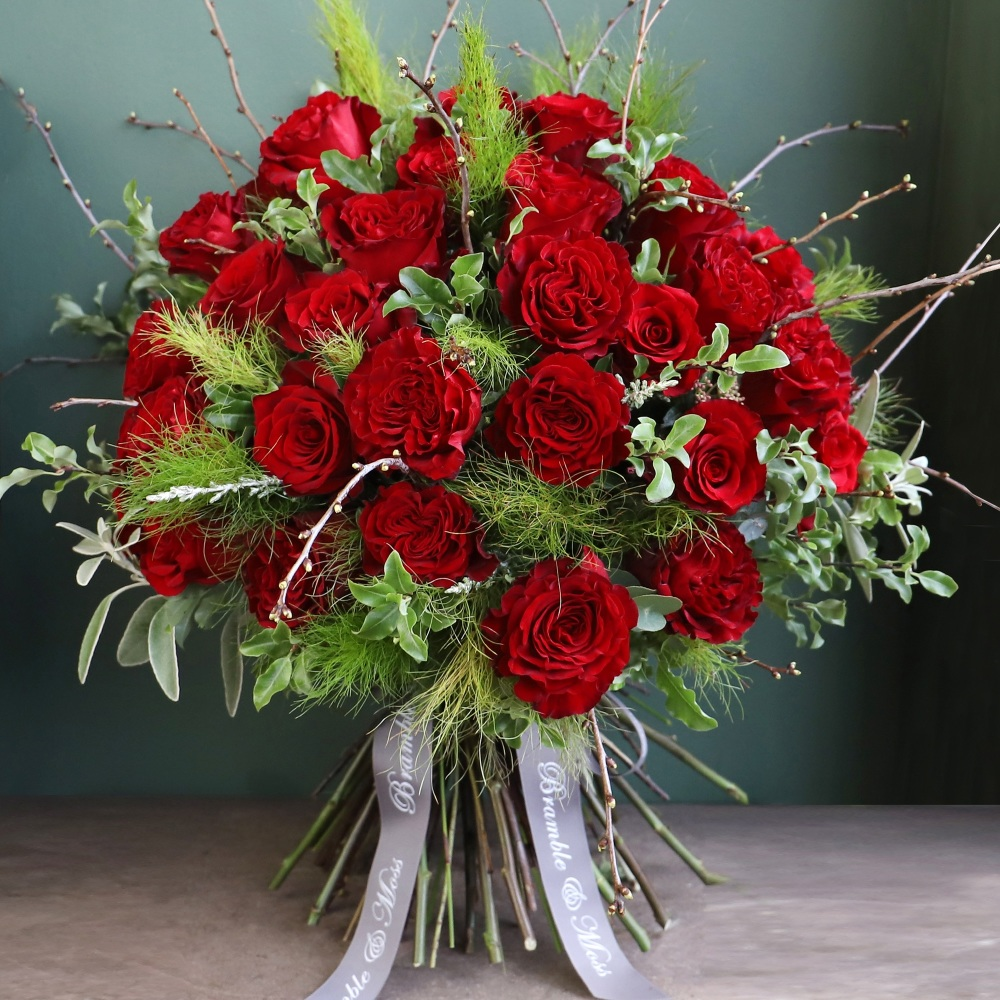 Ultimate Luxury, 50 Fair Trade Red Roses