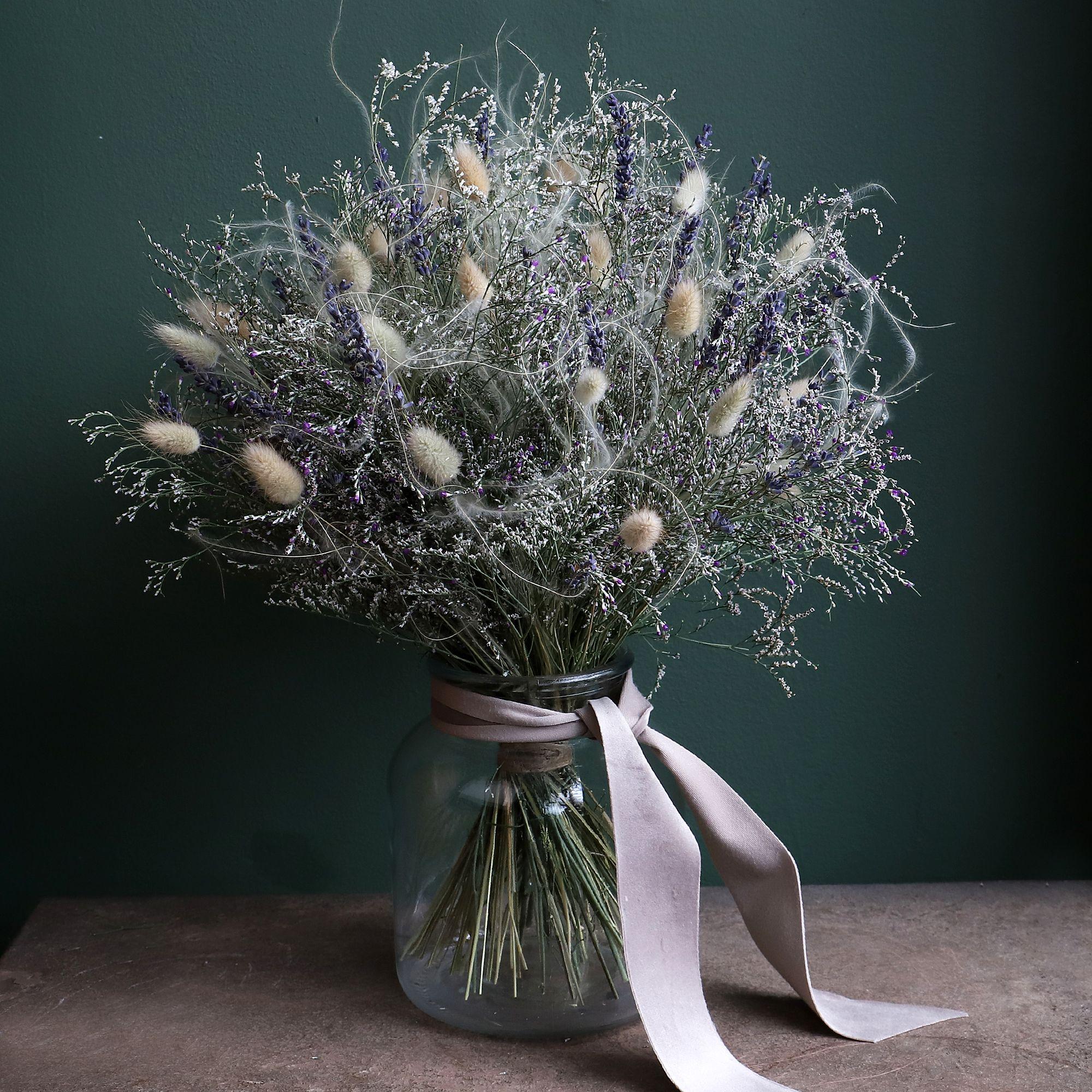Dried 4 vase