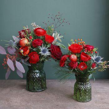 2. Set of Jars - Red