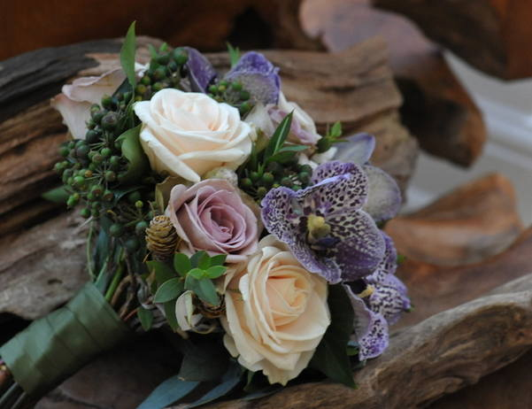 Rose & Orchid Bouquet