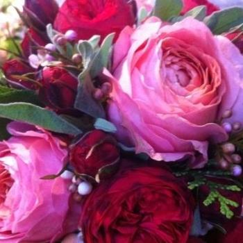Piano rose bouquet