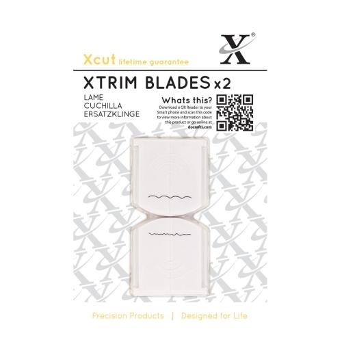 Xcut Xtrim blades x2- Deckle & Scallop   xcu268504