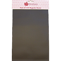 WOODWARE PACK OF 2 A4 MAGNETIC SHEETS  2874