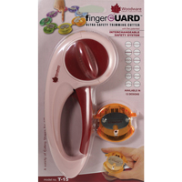 Woodware Fingerguard trimmer with interchangeable safety system  T15