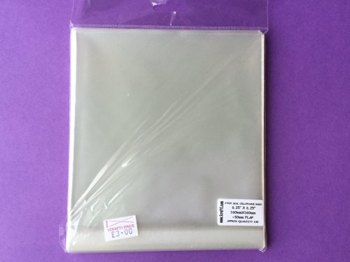 STRIP SEAL CELLOPHANE BAGS 6.25