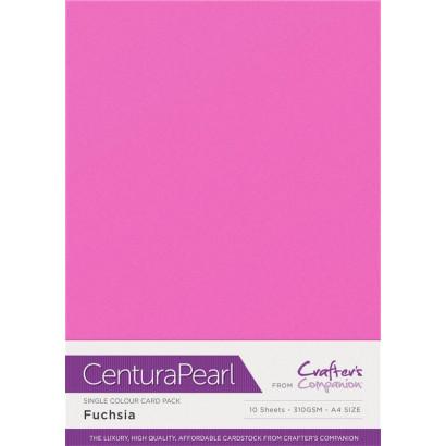 Crafters Companion Centura pearl Fuchsia pk of 10