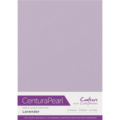 Crafters Companion Centura Pearl Lavender pk of 10
