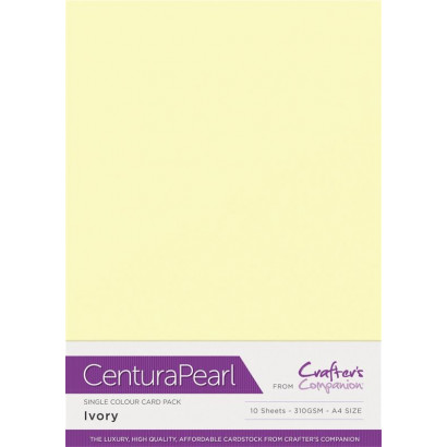 Crafters Companion Centura Pearl Ivory pk of 10