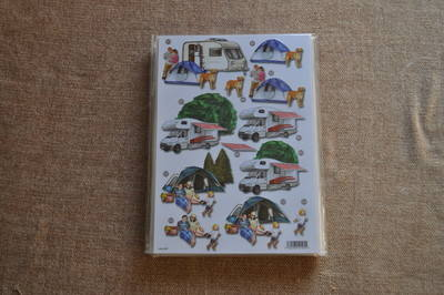 DECOUPAGE CAMPING AND CARAVANING 497