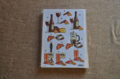 DECOUPAGE WINE/COFFEE AND BEER 498