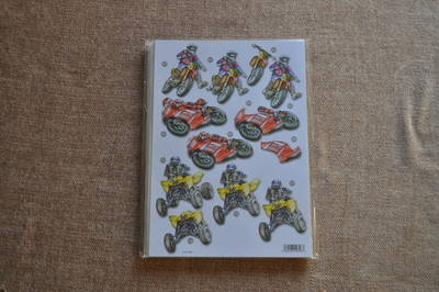 DECOUPAGE MOTORBIKES AND QUADS 539
