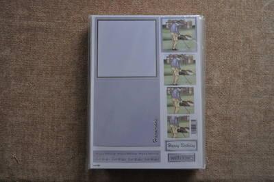DECOUPAGE CARD SET GOLF,CARD AND ENV INC 892