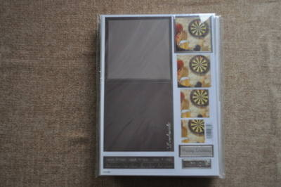 DECOUPAGE DARTS SET INC CARD AND ENV 894