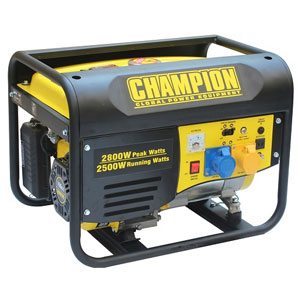 Champion ( USA ) 2800w Generator UK Tested