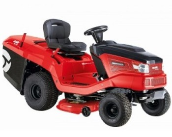 SOLO by Alko T16-105.6 HD V2 42'' cut Ride on Lawnmower - Excellent collection ability
