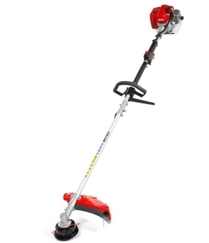 Mitox 26L-SP Value petrol 25.4cc engine brushcutter - straight shaft strimmer with brushcutter blade and harness