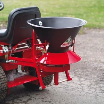 Countax Powered Broadcast Spreader attachment