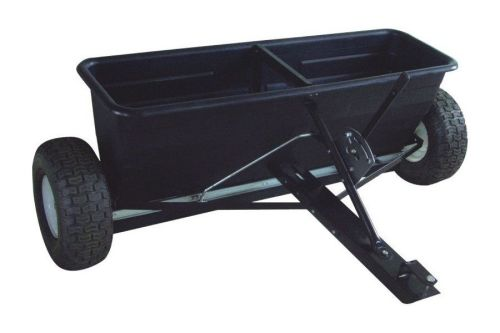Tow Ride on lawnmower Drop Spreader - perfect for spreading seed, weed kill