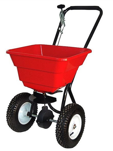 Push Spreaders - 29ltr / 58 ltr capacity, 12'' Pneumatic Tyres