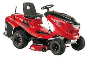Alko T15 - 93 Lawn tractor - 36'' cutting width, tight turning circle, Excellent in wet grass conditions