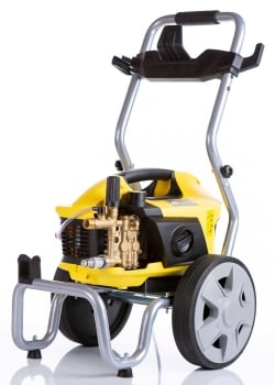 Professional Lightweight pressure washer, outstanding cleaning power with trolley frame / wall mountable options