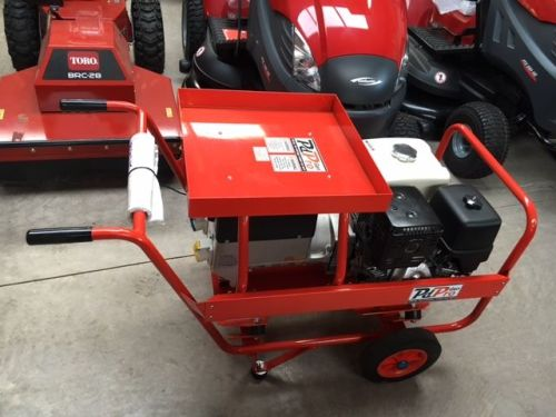 Honda GX390 Professional Welder Generator, 7.0Kva Trolley frame
