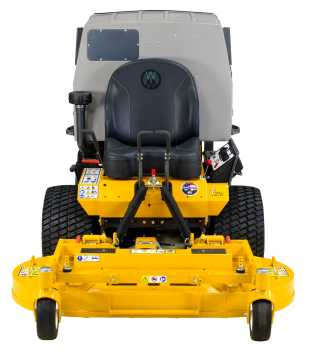 Walker T25i Front Deck Mower with High Tip Power Dump