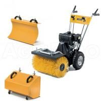 Stiga Petrol Sweeper SWS800G with Brush, Blade and Collecting Box