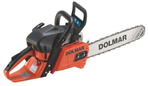 Dolmar PS-550 Petrol Chainsaw - 55.7cc - C/W steel carry case