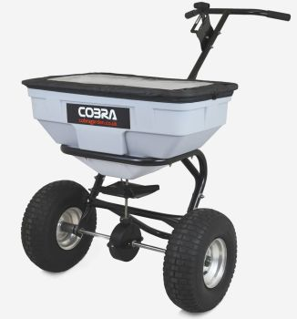 Cobra HS60 walk behind spreader 125lb capacity