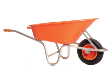 Aluminium Construction Wheelbarrow