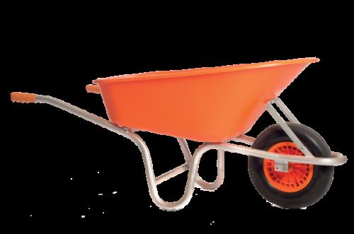 Aluminium Construction Wheelbarrow