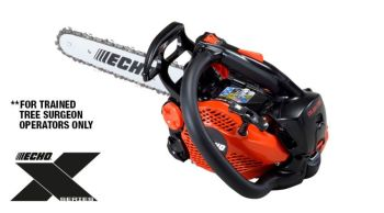 CS-2511TES Lightweight, Top Handle arborist chainsaw 10''
