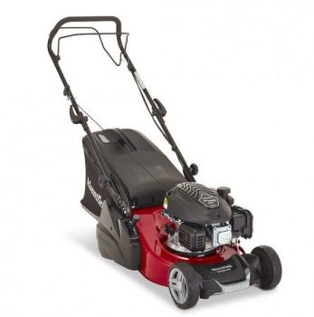 Mountfield S421R PD 16'' cut Self-propelled, petrol power with a rear roller for a stripy lawn
