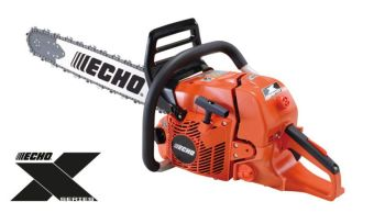 Echo CS-621SX Heavy-duty petrol chainsaw with a 20'' (50cm) guide bar, output of 3.2kW  weighs just 6.3kg
