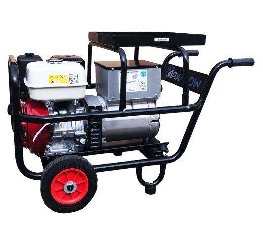 Maxflow ELITE200DC Loncin G39 Petrol Welder / Generator